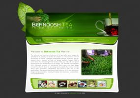 Behnoosh tea interface design by behzadblack