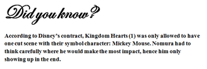 DID YOU KNOW: KH1 - Mickey's Impact by Highwind-Sniper