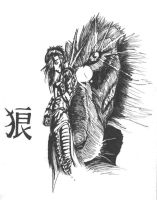 of wovles and lions by Tsukiame