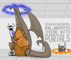 Portals and Dragons by Lastdragondreamer