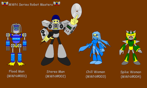 MWN Series Robot Masters 1 by slam422