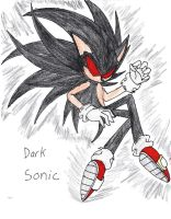 Dark Sonic by XenomorphicDragon