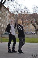 Squalo and Bel from Reborn! by BurningFalcon