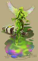 Chow158: The Green Fairy by Autaux