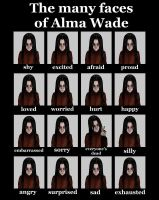 Alma Wade Expressions by lkhrizl