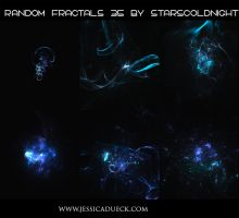 Random fractals 35 by Starscoldnight by StarsColdNight