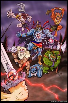 The Evil Mutants by JoeCostantini