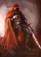 the Red Knight by vkucukemre