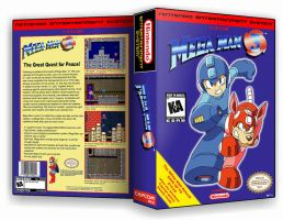 Mega Man 3 Custom Case Cover by TuxedoMoroboshi