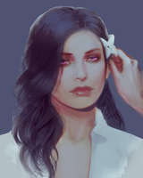 The Witcher: Yennefer by atutcha