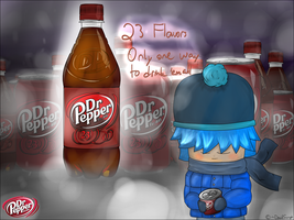 How I drink Dr. Pepper WIP by DavidScript