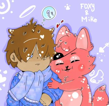Mike and Foxy by HeavenlyHorse