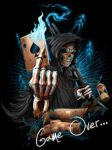 Grim Reaper, Game Over? by natikakid