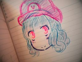 quick drawing at school by ViviinKa