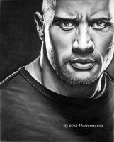 Dwayne Johnson 2 by Mariannaeva