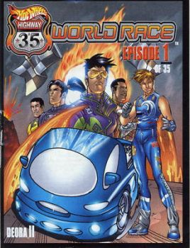 hot wheels world race by sailorkagome91