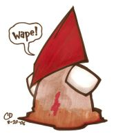 lil' Pyramid Head by rude-boy13