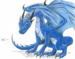 Leikos :Dragon: by Crystalhedgie