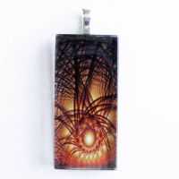 Collaboration Glass Pendant 4 by Create-A-Pendant