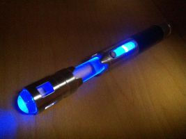 Sonic Screwdriver MkII (Lit) by Toukejin