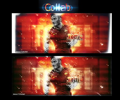 Totti collab by Mou3ad1-Art