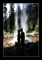 Waterfall Kiss by trevg