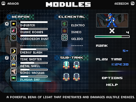 Megaman X ~ Menu (Finished) by Fraot