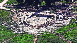 The theatre of Dionysus by woodsman2b