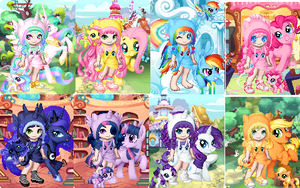Gaia Online:My Little Pony by jovanal