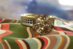 Diamond Ring by LuxXeon