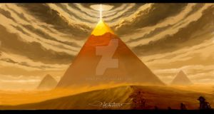 The pyramids by dongle70