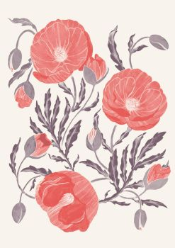 Poppies by Atia-ink