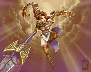 Athena Colored
