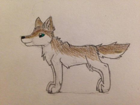 Mcsm-M.Jesse as a wolf (redraw) by chanelthecat