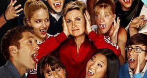 Sue is attacked by Glee Vamps by stefyjonas1