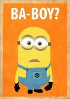 Despicable Me Minion Poster by Procastinating