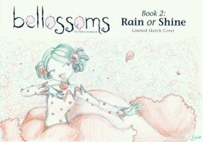 Bellossoms Book 2 Limited Sketch Cover: Baby Thorn by SimplyErika