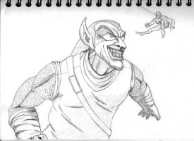 the green goblin by leseraphin