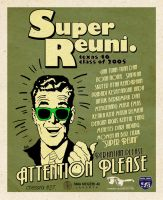 super reuni sounding poster by AFDROBOY