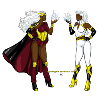 X-JAMXIII: Storm by Lightengale