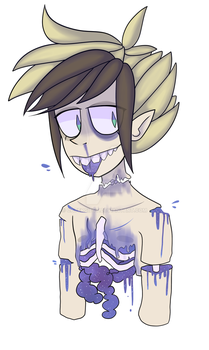 Bleh / Gore by EmmixArt