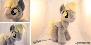 Derpy Hooves V2 Mane My Little Pony Plushie by LiChiba