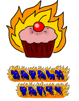 Band Logo - Napalm Party by theginga