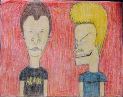 Beavis and Butt-head by julianDB92