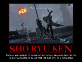 Batman Sho Ryu Ken by MexPirateRed