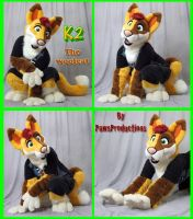 k2 fursuit by PlushiePaws