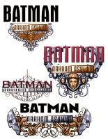 Batman Arkham logo ideas by Chuckdee