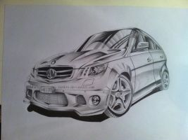 Mercedes Benz by Rayckro