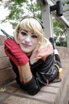 Bombshell Harley Quinn Cosplay AWA Con 2014 (2) by derpmyBASS