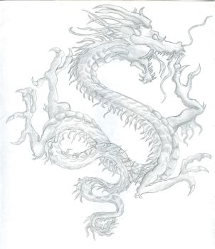 wind dragon by whiteharu